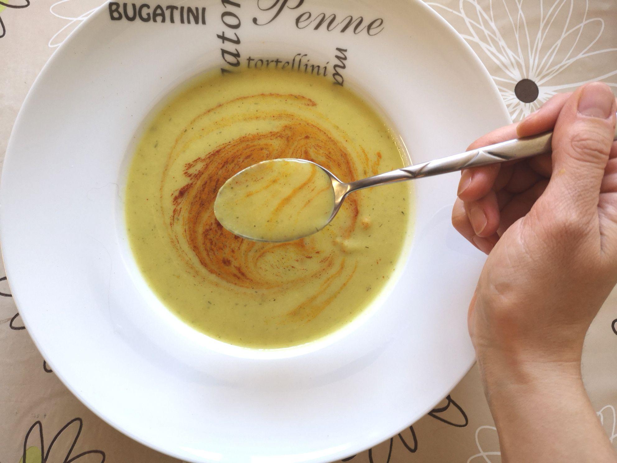 Cauliflower Broccoli Soup