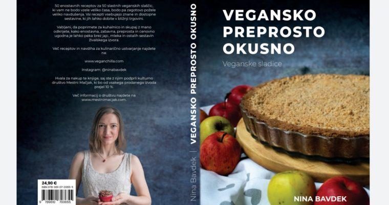KNJIGA: VEGANSKO PREPROSTO OKUSNO – veganske sladice