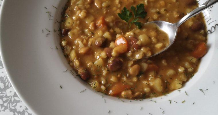 Vegan Ričet – Barley stew